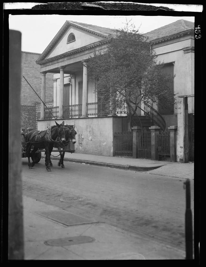 General Beauregard's house, 1113 Chartres Street, New Orleans