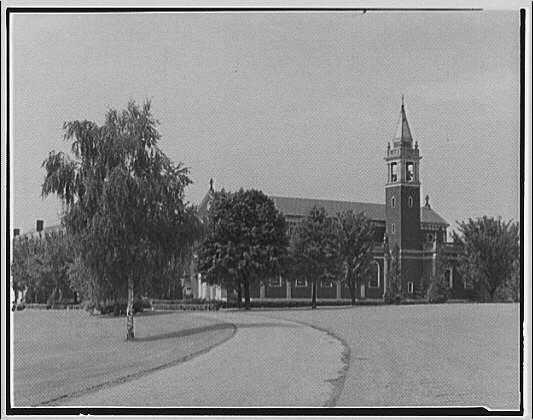 Georgetown Preparatory School. Chapel at Georgetown Preparatory School II