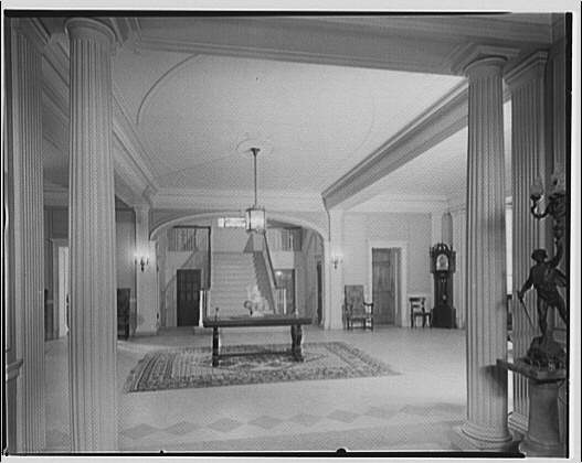 Georgetown Preparatory School. Large hall-like interior, Georgetown Preparatory School