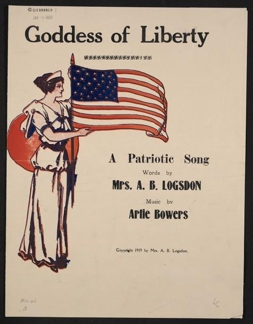 Goddess of liberty a patriotic song