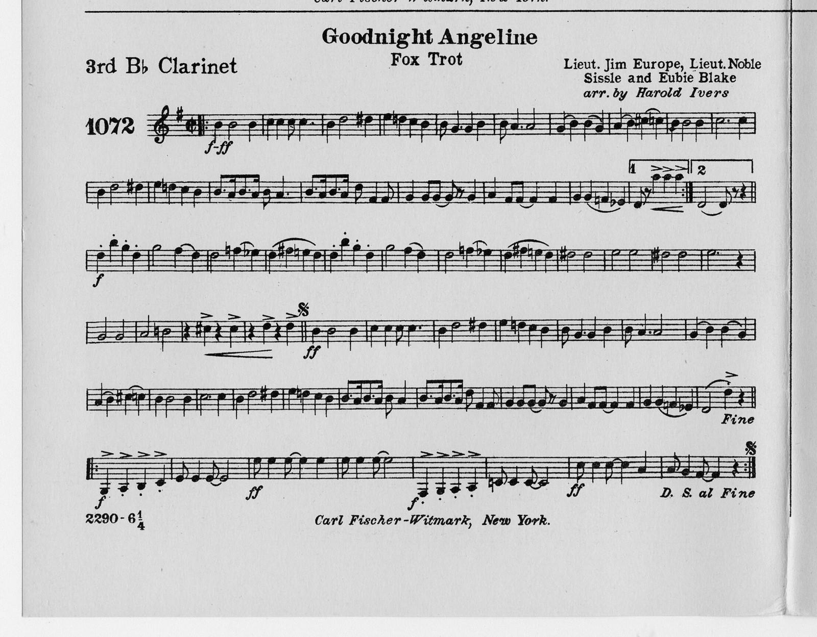 Goodnight Angeline
