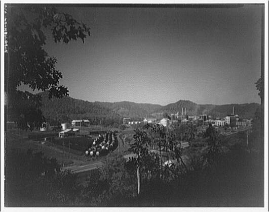 Great Dupont Ammonia Corp., Belle, West Virginia. General view of Great Dupont Ammonia Corp.