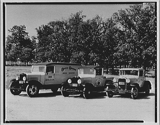 Griffith Consumers Co. Business vehicles of Griffith Consumers Co.