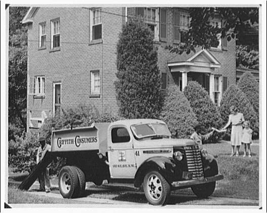 Griffith Consumers Co. Copy of Griffith Consumers Co. coal truck photograph