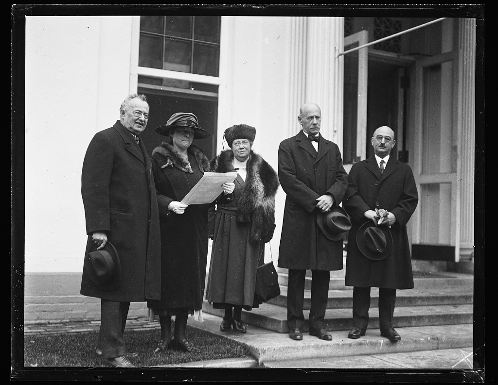 [Group. White House, Washington, D.C.]