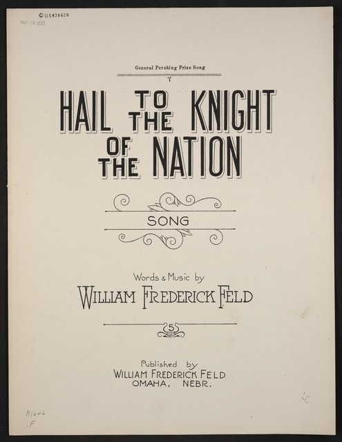 Hail to the knight of the nation song