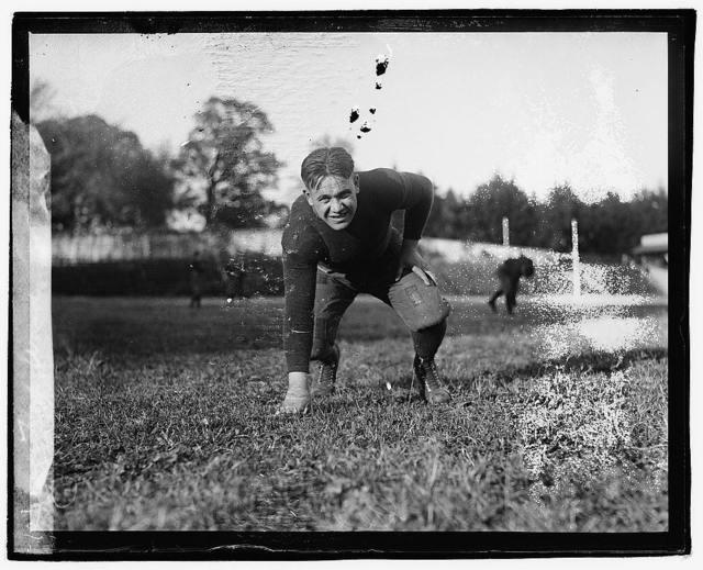 Hap. Ward, Georgetown, 1920