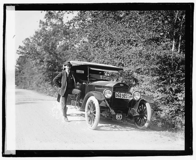 Herald tour, Point Comfort, Gardener car