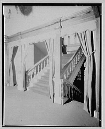 High Ho Club. Staircase in High Ho Club