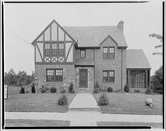 House at 1111 Seminary Rd., Montgomery Hills, Maryland. Exterior of house at 1111 Seminary Rd.