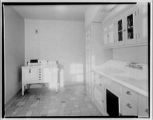 House at 3608 Rittenhouse St., N.W. Kitchen of house at 3608 Rittenhouse St., N.W.