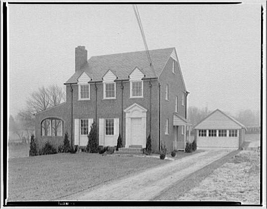 House at 806 Noyes Dr., Woodside, Maryland. Exterior of house at 806 Noyes Dr.