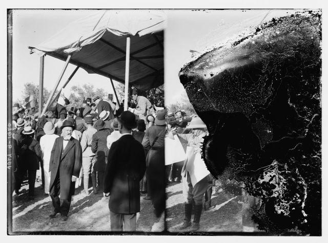 H.S. [i.e., Herbert Samuel] arrival, July 9, 1920