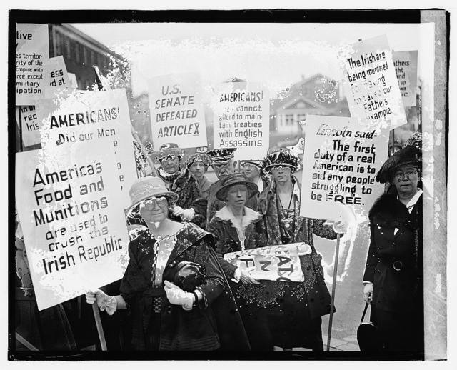 Irish Demonstration, 4/1/20
