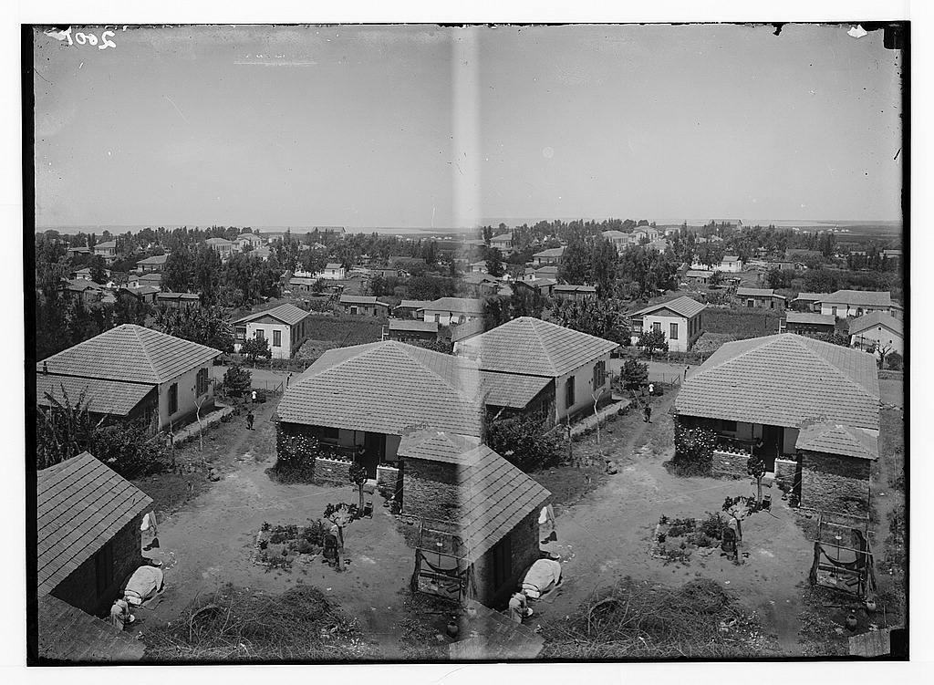 Jewish colonies and settlements. Richon le Zion