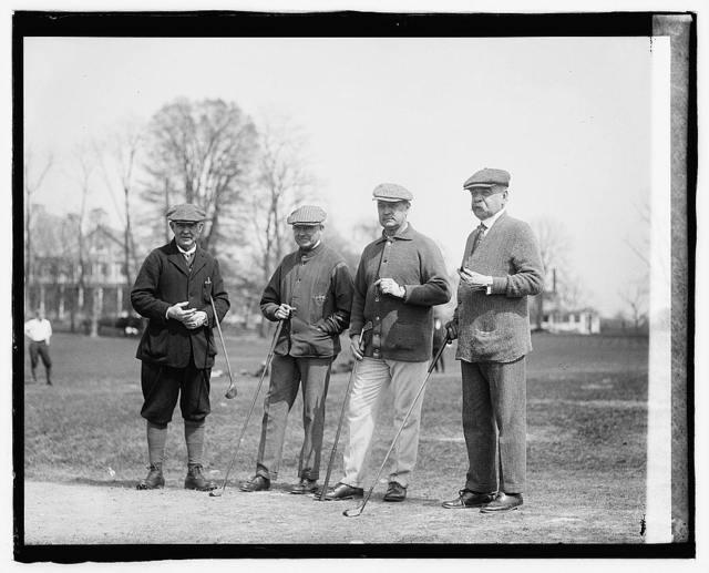 Jm. B. Payne, Moreven Thompson, Secty. Houston, Senator Saulsbury