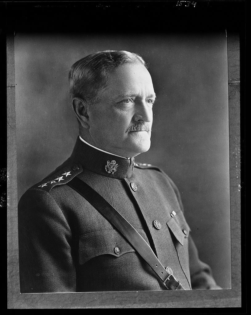 John J. Pershing, General U.S.A. Portrait of John J. Pershing