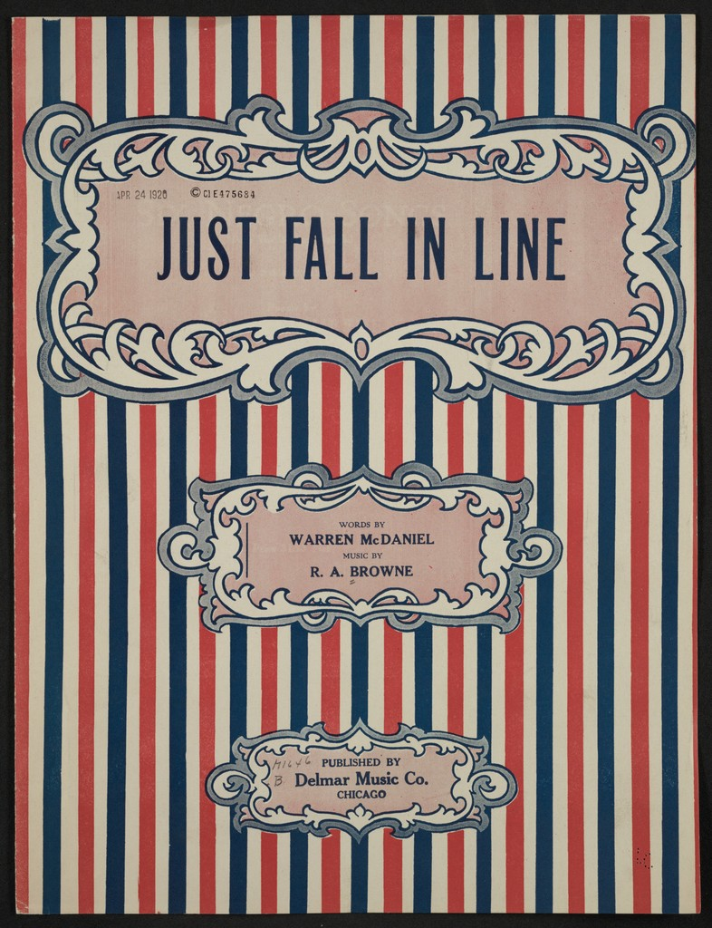 Just fall in line