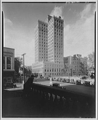Kanawha Bank, Charleston, West Virginia. Twenty-story building in Charleston