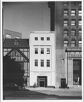 Liberty Building Association, 1407 G St., N.W. Exterior of Liberty Building Association II