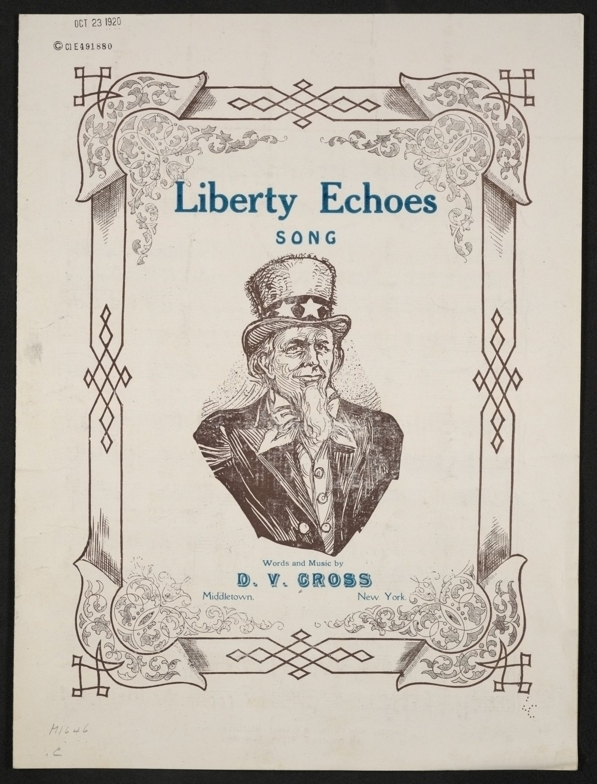 Liberty echoes song