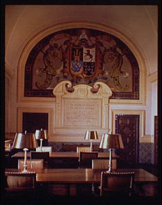 Library of Congress (Jefferson Building). Hispanic Reading Room, Library of Congress I