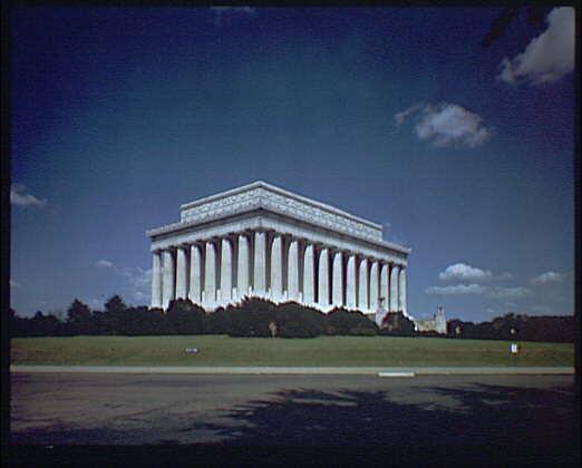 Lincoln Memorial. Exterior of Lincoln Memorial XII