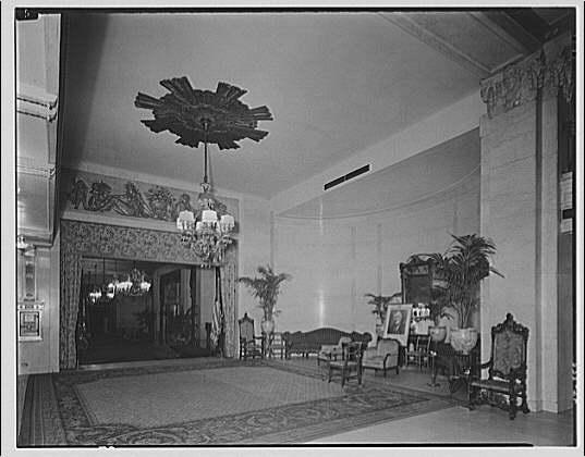 Mayflower Hotel. Main lobby of Mayflower Hotel III