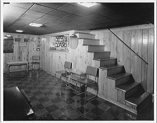 Miscellaneous interiors. Bar I