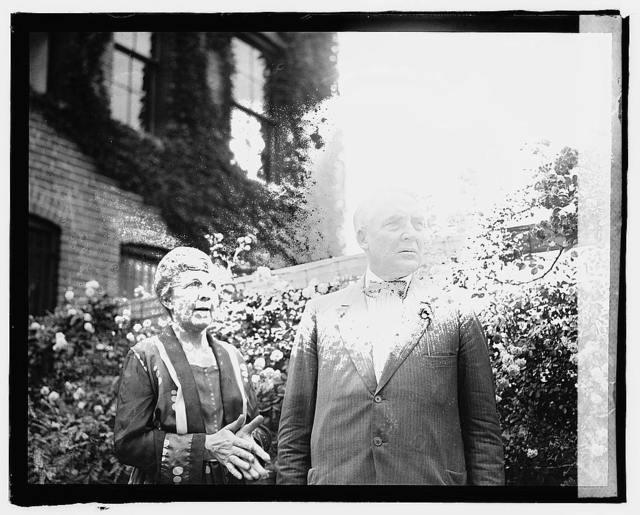 Mr. & Mrs. Warren G. Harding