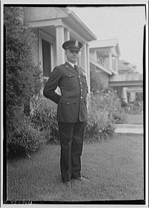 Mr. Zirmaneck. Portrait of Mr. Zirmaneck in police uniform II
