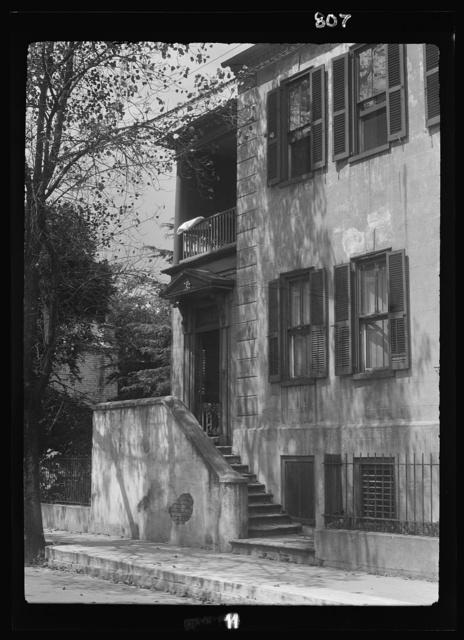 Multi-story house, New Orleans or Charleston, South Carolina