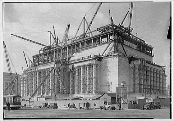 National Archives. Construction of National Archives