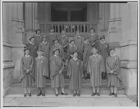 National Cathedral. Lady aides at National Cathedral II