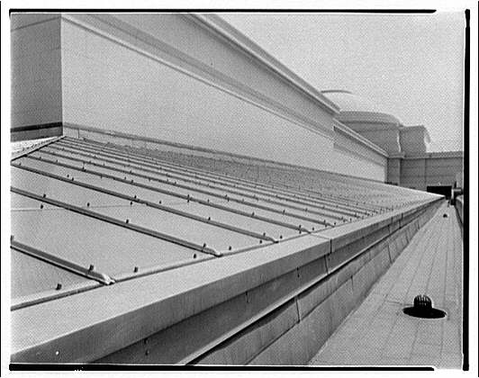 National Gallery of Art. Roof of National Gallery of Art for International Nickel Co. III