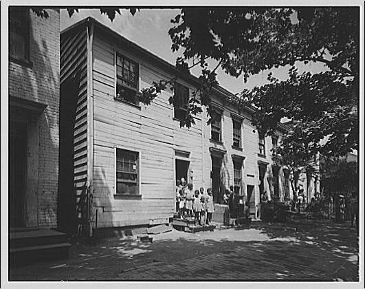 Nation's Business. Negro housing I