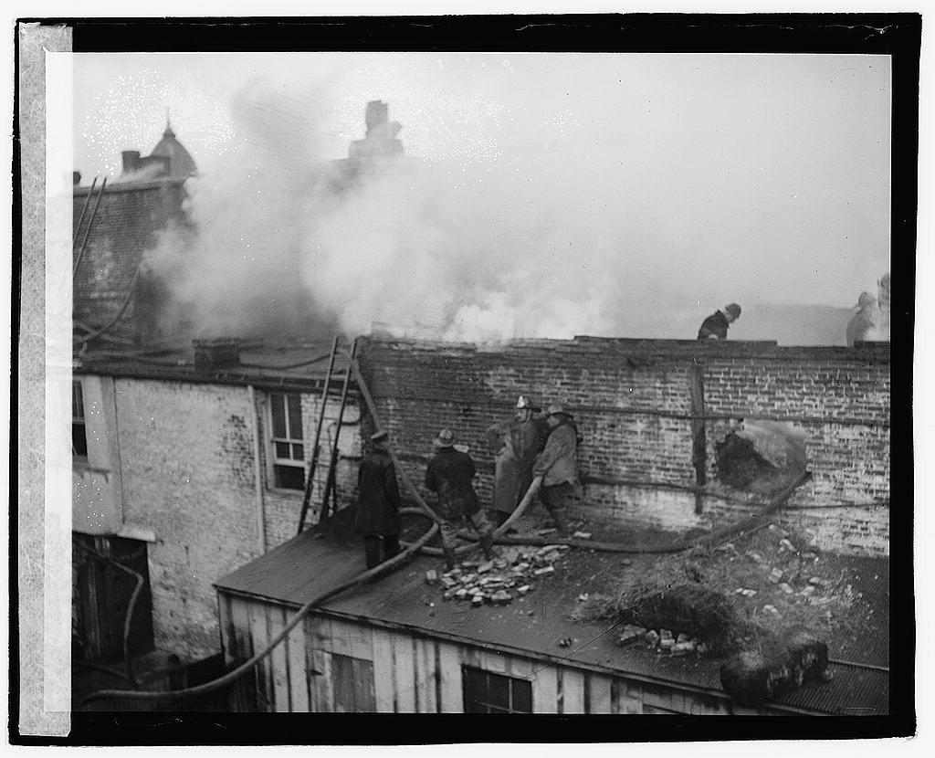 Nixon Brewer fire, 7th and B, [Washington, D.C.]