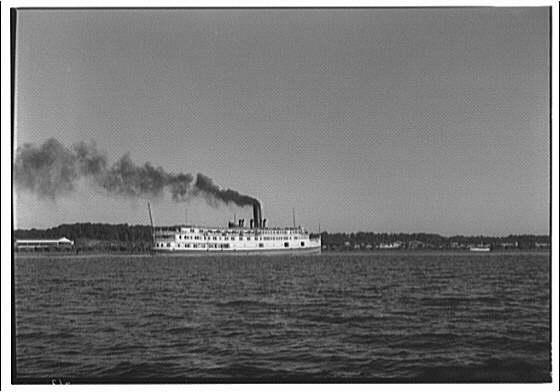 Norfolk & Washington Steamboat Co. Norfolk & Washington steamboat II