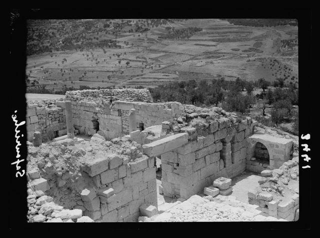 Northern views. Safourieh. Remains of the Roman Sepphoris