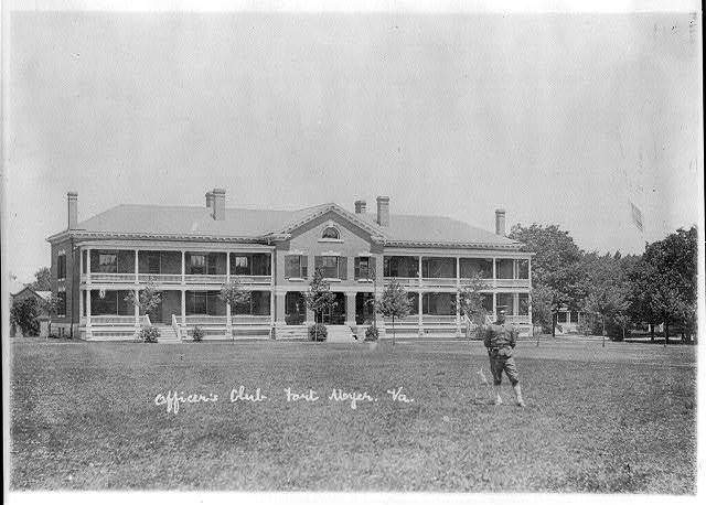 [Officers Club, Fort Myer, Viriginia]