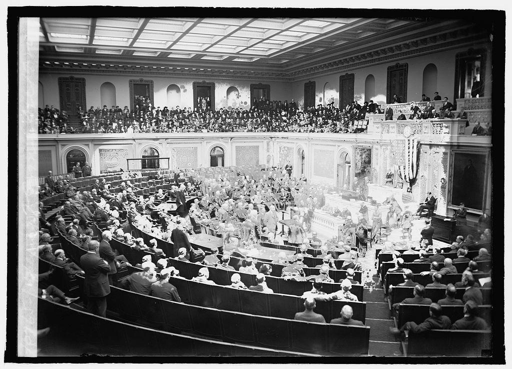 Opening of Congress, Dec. 1920