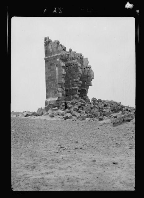 Palmyra. Desert. Qasr el Heir. Near Qariatein on Palmyra track