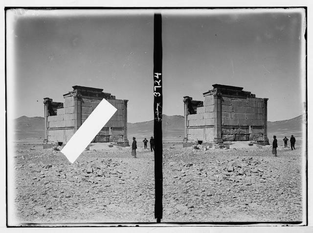 Palmyra. Qasr el Hayeh. A small funeral temple