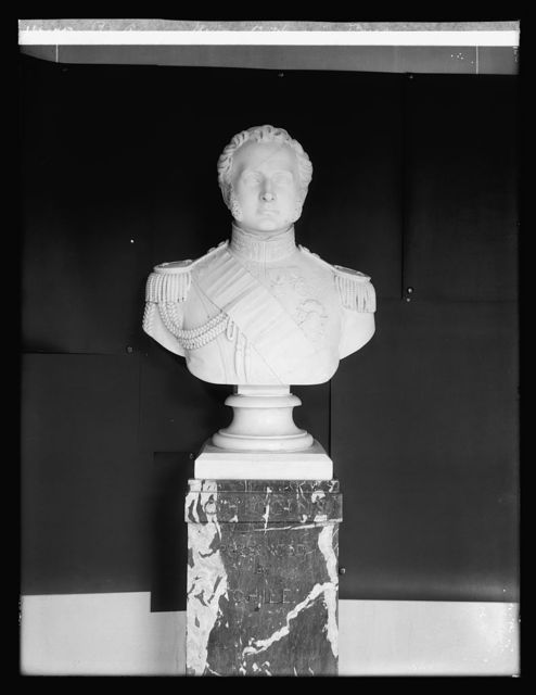 Pan American Union, O'Higgings bust, [Washington, D.C.]
