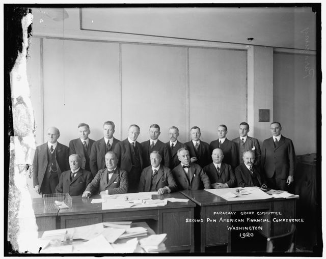 Paraguay Conference Committee: Second Pan American Financial Conference. Washington, 1920