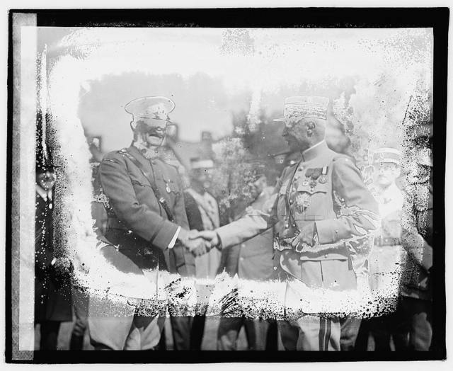 Pershing, General Marie Emile Fayolle