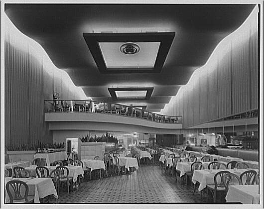 Potomac Electric Power Co. air conditioning and lighting. Del Rio restaurant II