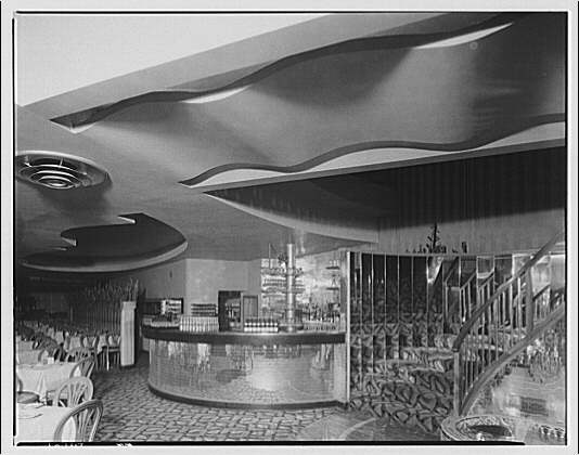 Potomac Electric Power Co. air conditioning and lighting. Del Rio restaurant III