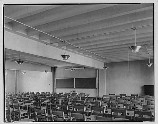 Potomac Electric Power Co. air conditioning and lighting. George Washington University III