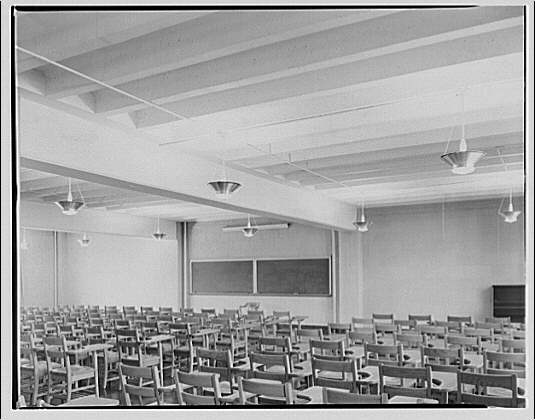 Potomac Electric Power Co. air conditioning and lighting. George Washington University II